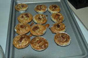 2 Bite Pecan Pies!!