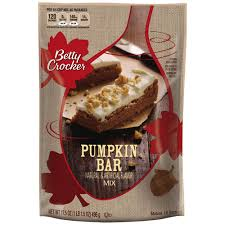 bc pumpkin bar