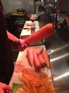 heheheh GIANT carrot