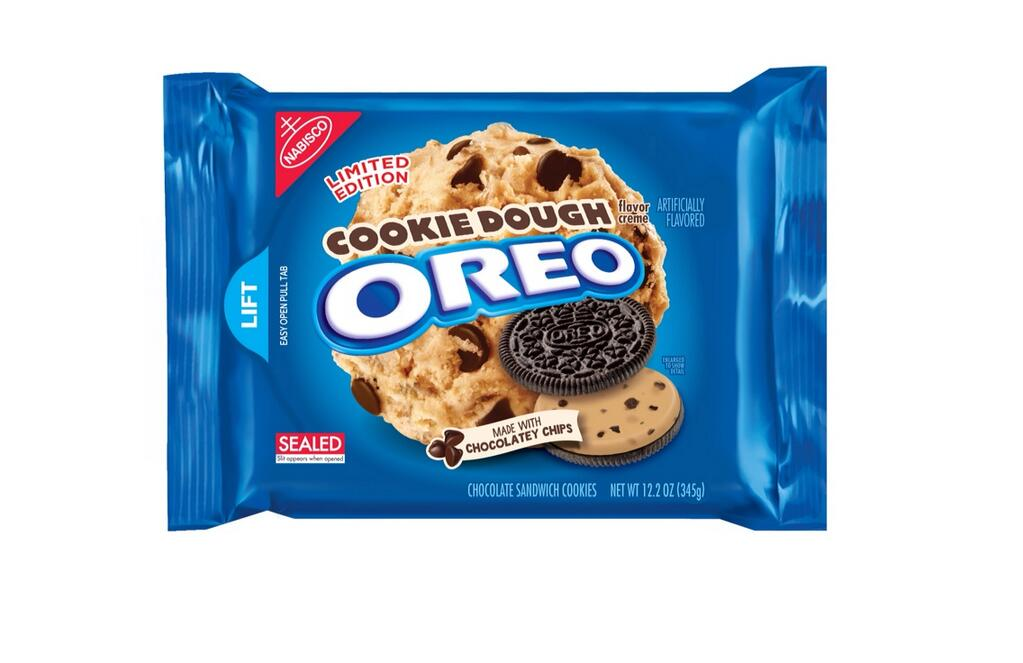 but amazingly amazing news  THERE ARE NOW COOKIE DOUGH OREOSCookie Dough Oreos