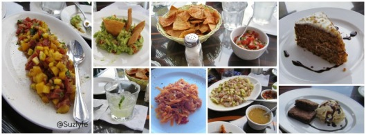 la marea food Collage