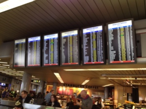 """All of that yellow says """"cancelled."""" It turned to that AFTER we had boarded and deplaned. FAIL"""