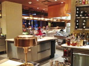 View from the Chef's Counter.