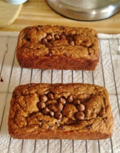 Chocolate Chip Pumpkin Bread (Recipe to Come)