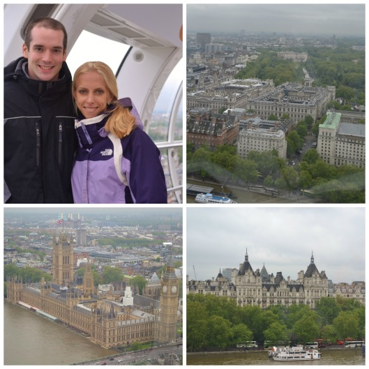 london eye Collage