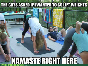 namaste right here