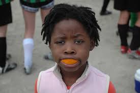 orange mouthguard