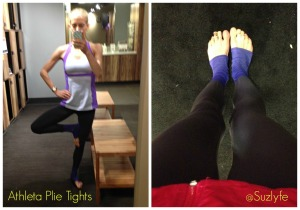 athleta plie Collage